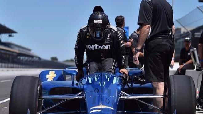Juan Pablo Montoya fuhr die erste Runde mit dem neuen Aero-Kit