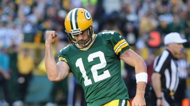 Aaron Rodgers von den Green Bay Packers zeigte im Spiel gegen die Seattle Seahawks eine starke Leistung