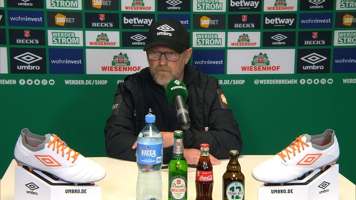 Werder Bremen schafft es am letzten Spieltag nicht das Ruder noch rumzureißen und steigt in die 2. Liga ab. Interimstrainer Thomas Schaaf ist nach dem Abstieg konsterniert.