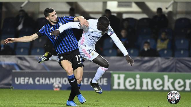 Ferland Mendy erlöste Real Madrid im Achtelfinale gegen Atalanta Bergamo spät