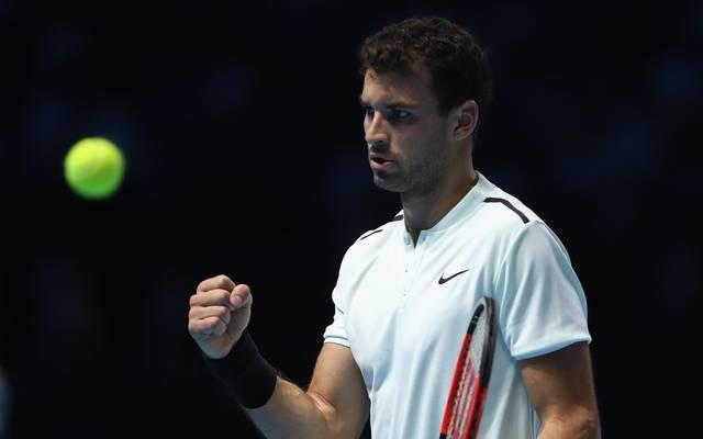 Grigor Dimitrov spielt als erster Bulgare in den ATP-Finals