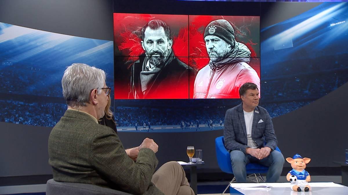 Das Missverhältnis zwischen Hansi Flick und Hasan Salihamidzic sorgt für Diskussion. Für Marcel Reif ist der Machtkampf beim Rekordmeister ein No-Go.