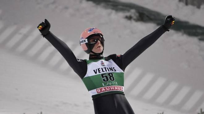 Karl Geiger sprang seine bislang stärkste Weltcup-Saison