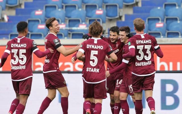 Dynamo Dresden sichert sich den vierten Sieg in Folge