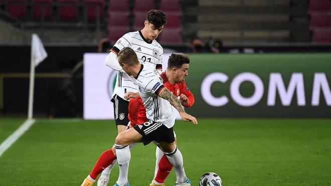 Toni Kroos absolvierte gegen die Schweiz sein 100. Länderspiel für Deutschland