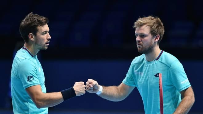 Krawietz und Mies verpassten in London das Halbfinale