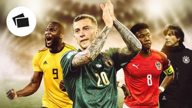 Italien und Belgien sind als erste Mannschaften bei der WM dabei