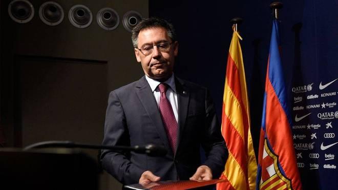 Die Amtszeit von Josep Maria Bartomeu, Präsident des FC Barcelona, neigt sich möglicherweise dem Ende entgegen