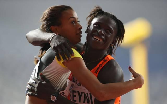 Aminatou Seyni darf bei der Leichtathletik-WM in Doha nicht über 400 Meter starten