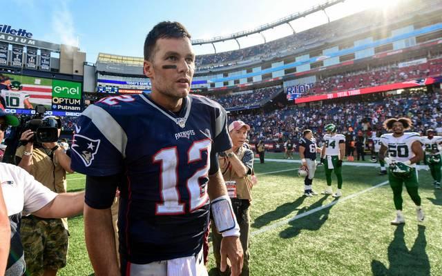 Ob Tom Brady gegen die Buffalo Bills einsatzbereit ist, ist noch unklar