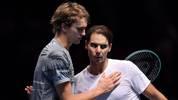 Rafael Nadal und Alexander Zverev