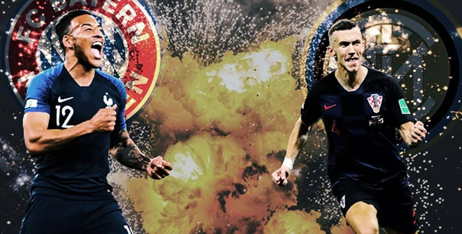 Seit 1982 stand in jedem WM-Finale mindestens ein Spieler vom FC Bayern München und einer von Inter Mailand in den Aufgeboten der beiden Endspiel-Teilnehmer. SPORT1 zeigt die Bilder der Teams
