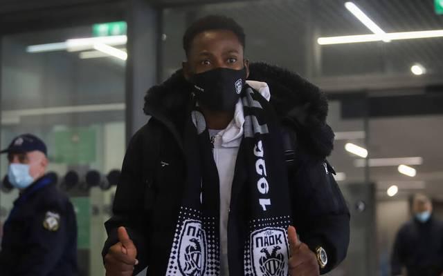 Neuzugang Abdul Rahman Baba ist bereits bei PAOK Saloniki angekommen