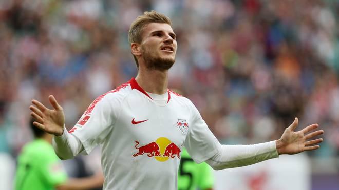 Europa League: RB Leipzig bangt um Timo Werner, RB-Torjäger Timo Werner droht gegen Salzburg auszufallen