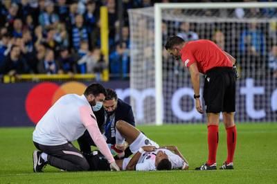Kylian Mbappé muss beim Champions-League-Spiel von PSG gegen den FC Brügge ausgewechselt werden. Trainer Pochettino äußert sich nach dem Spiel zur Verletzung.