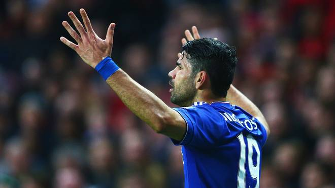 Diego Costa wechselte 2014 zum FC Chelsea