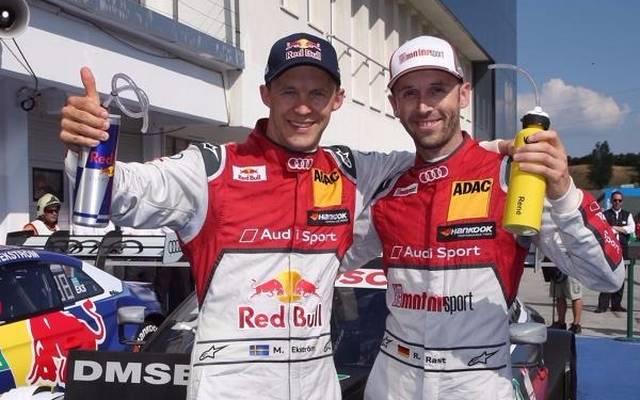 Mattias Ekström und Rene Rast sind heiße Anwärter auf den DTM-Titel 2017