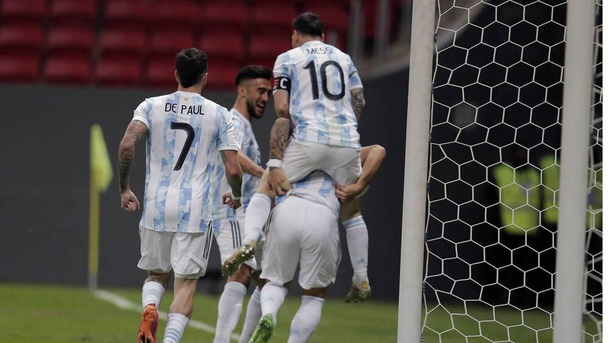 Argentinien steht im Finale der Copa Amércia