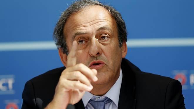 Michel Platini wurde für acht Jahre gesperrt
