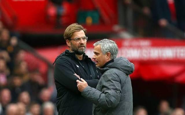 José Mourinho (r.) und Jürgen Klopp treffen am Mittwoch aufeinander