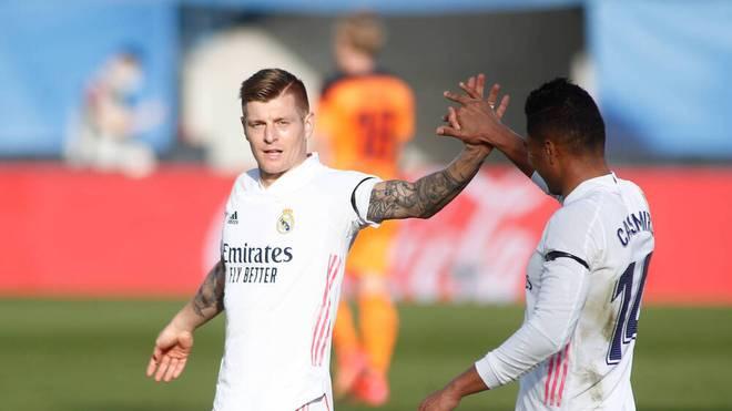 Toni Kroos ist bei Real Madrid in Topform
