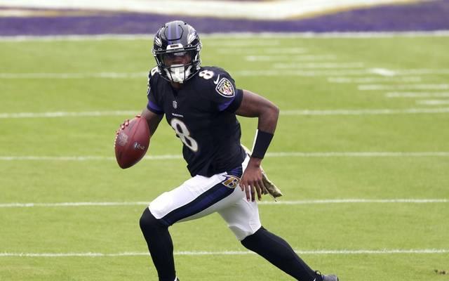 Star-Quarterback LamarJackson laut US-Medien positiv