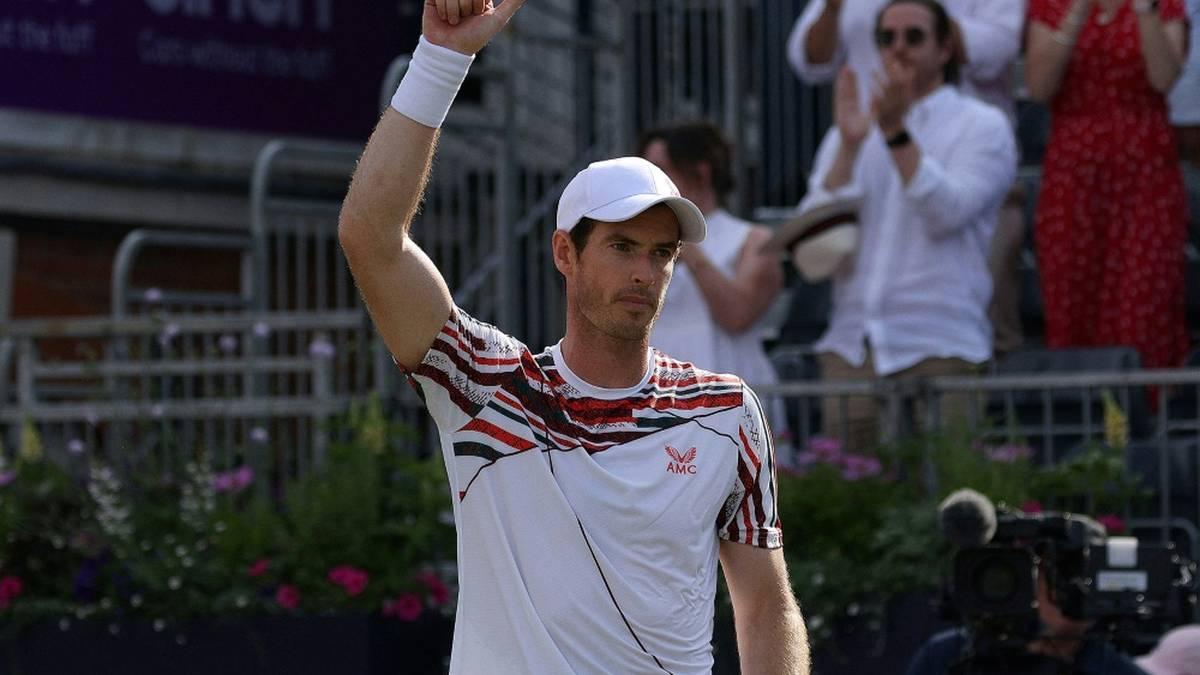 Andy Murray erhält für Wimbledon eine Wildcard