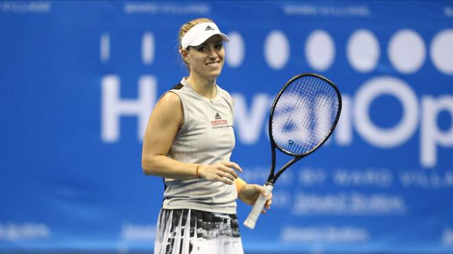 Angelique Kerber steht im Finale der Hawaii Open