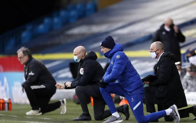 Diese Jacke trug Thomas Tuchel gegen Leeds zu Beginn des Spiels