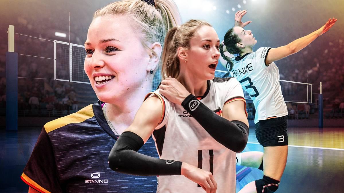 Jennifer Geerties und Co. - der DVV-Kader für die Europameisterschaft 2019 in Bratislava, Slowenien