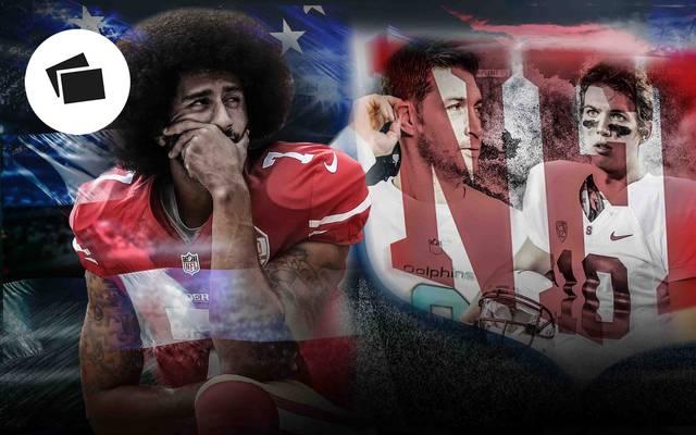 Seit dem Ende der Saison 2016 ist Colin Kapernick Free Agent und wartet auf ein Engagement in der NFL