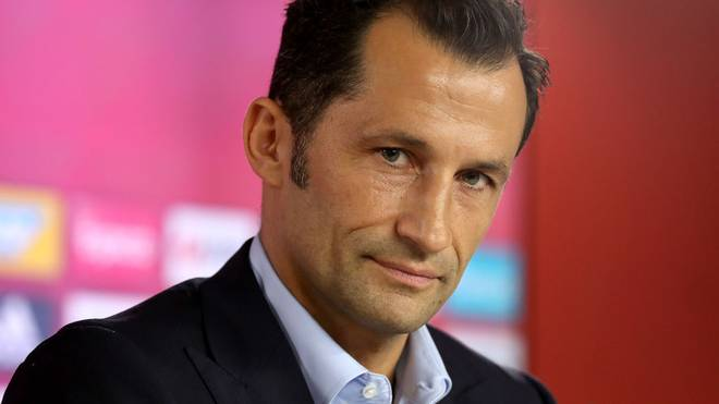 MUNICH, GERMANY - AUGUST 20:  Hasan Salihamidzic, sporting director of FC Bayern Muenchen looks on during a press conference at Bayern Muenchen's headquarters Saebener Strasse on August 20, 2019 in Munich, Germany. (Photo by Alexander Hassenstein/Getty Images for FC Bayern)