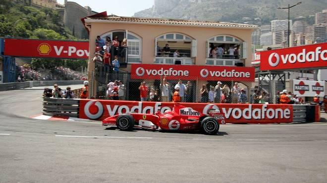 Michael Schumacher stellte 2006 im Qualifying zum Monaco-GP seinen Ferrrari in der Rascasse ab