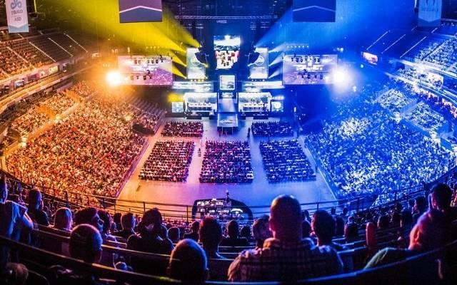 EIne typische eSports-Arena