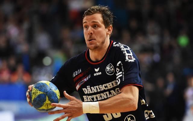 Kentin Mahé hatte gehörigen Anteil am Sieg der SG Flensburg Handewitt in der Champions League