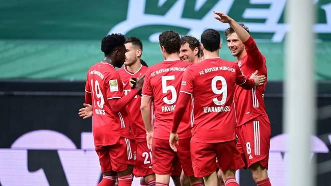 Bayern München bezwingt Werder Bremen 3:1