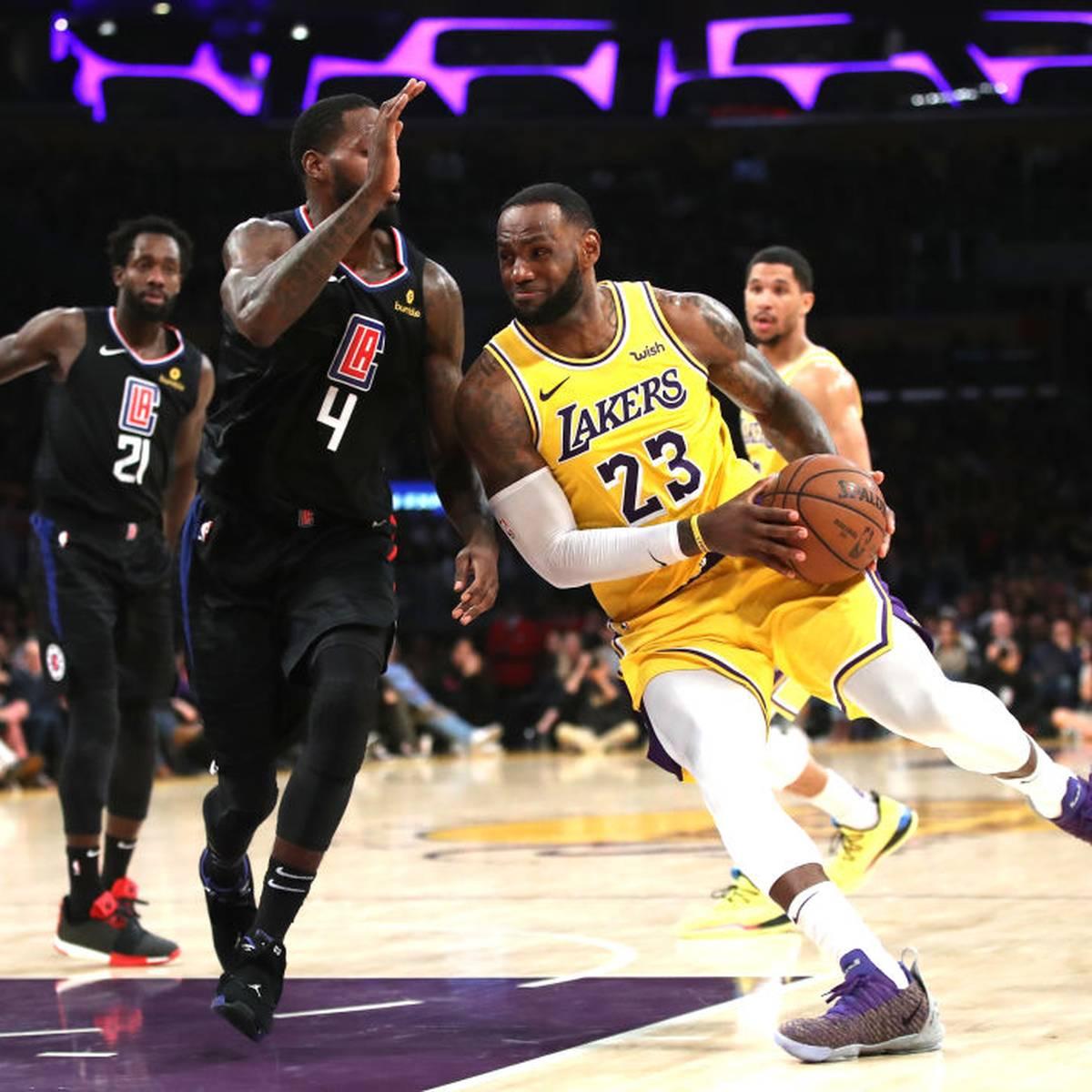 NBA startet mit Kracher in L.A.