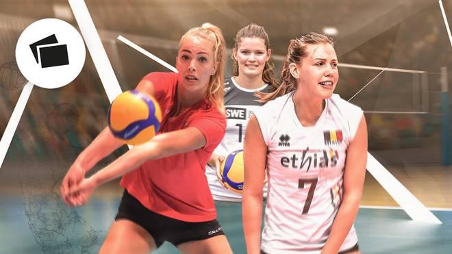 In der Volleyball-Bundesliga gibt es einige Newcomerinnen