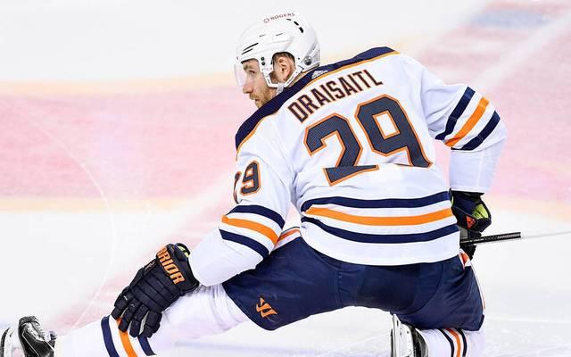 Leon Draisaitl von den Edmonton Oilers zeigte einen unfassbaren Gala-Auftritt