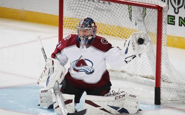 Philipp Grubauer glänzt für die Colorado Avalanche in der NHL