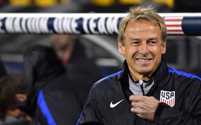 Jürgen Klinsmann hatte auch nach seinem Rauswurf - zumindest finanziell - gut lachen