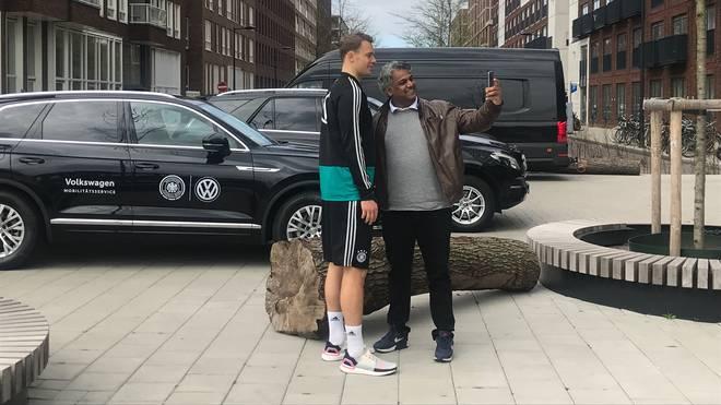 Manuel Neuer in Amsterdam