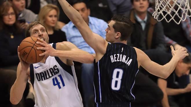 Dallas-Star Dirk Nowitzki kommt gegen Orlando auf starke 20 Punkte