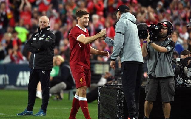Steven Gerrard schwärmt von der Mentalität des FC Liverpool unter Jürgen Klopp