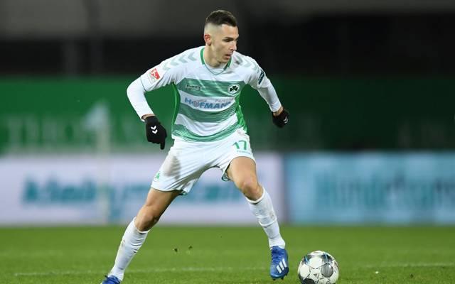 Die SpVgg Greuther Fürth will Druck auf Rang drei machen