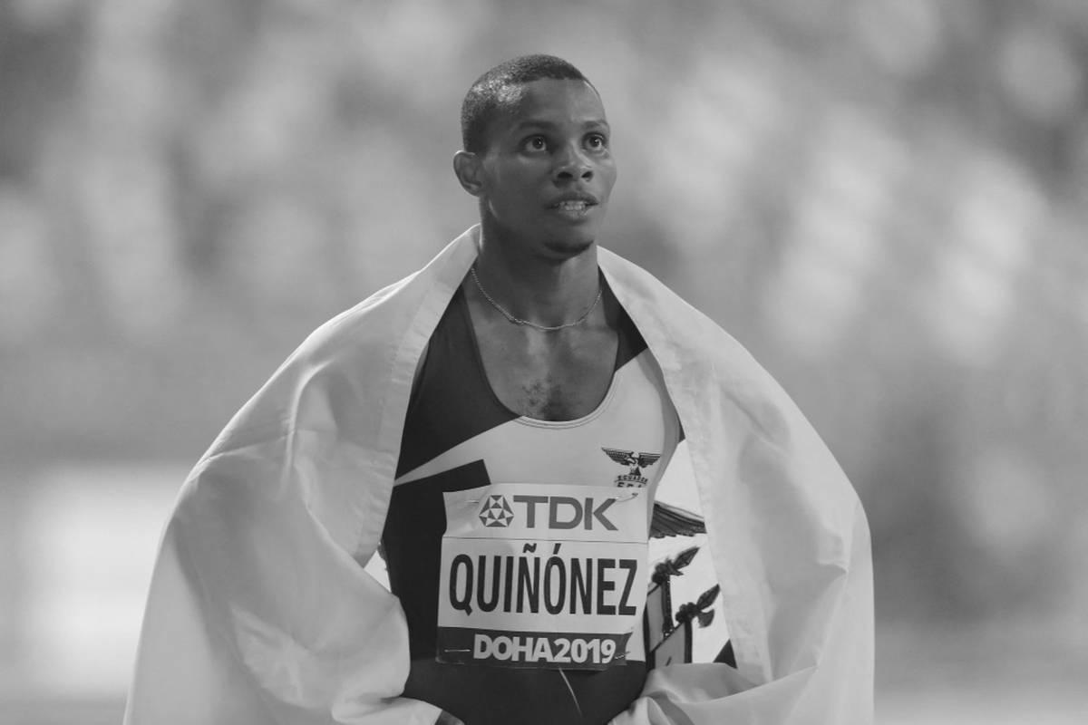 Der ecuadorianische Sprinter Alex Quinonez ist nach Angaben des nationalen Sportministeriums in der Hafenstadt Guayaquil erschossen worden.