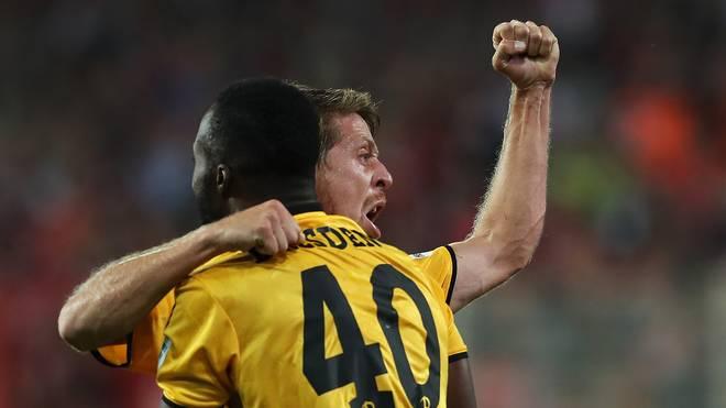 1. FC Union Berlin v SG Dynamo Dresden - Second Bundesliga
