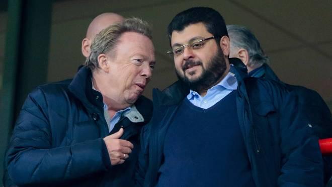 2. Bundesliga: Peter Cassalette und Hasan Ismaik vom TSV 1860 München