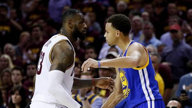 LeBron James kann nicht fassen, wie Stephen Curry spielt
