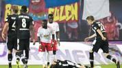 Hat des Öfteren seine Nerven nicht im Griff: RB Leipzigs Naby Keita (M.)